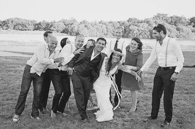 60 invités qui seront forcément à votre mariage et qu'il va falloir gérer !