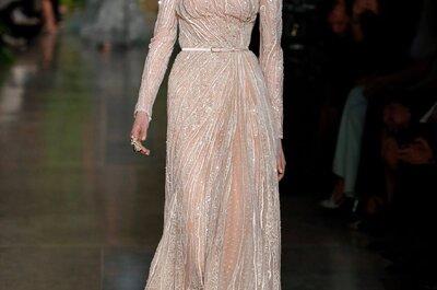 Elie Saab alta costura: Una oda al romance envuelta en preciosos vestidos de fiesta 2015