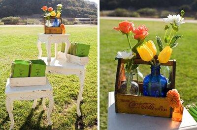 #MartesDeBodas: Divertida decoración de boda en color verde