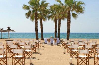 Los 10 mejores lugares para una boda en la playa en Barcelona