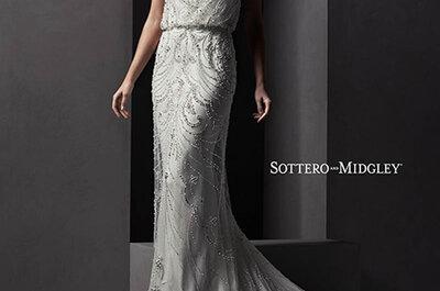 Espectacular pedrería para los vestidos de novia 2015