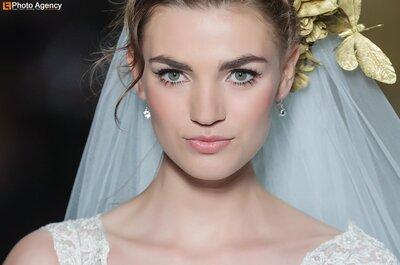 Kopfbedeckung für die Braut – aus der Pronovias-Kollektion 2014