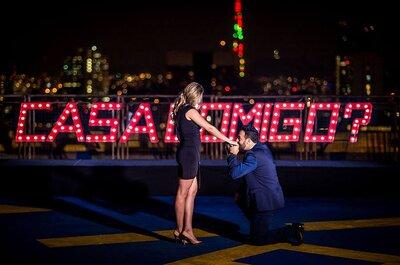 15 formas de pedir em casamento super românticas: como será a sua?