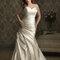 Vestido de noiva tamanho plus size. Foto: Allure