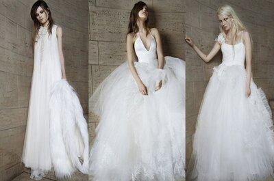 El glamour provocador de la novias de Vera Wang - Colección Primavera 2015