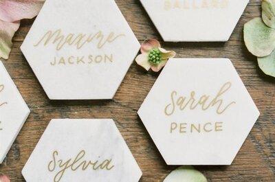 I segnaposto per matrimoni più belli visti su Pinterest