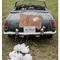 Decoraciones originales para el coche de los novios - Foto This Modern Romance