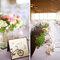 Dekorieren Sie auch den Hochzeitstisch nach dem Fahrradmotto