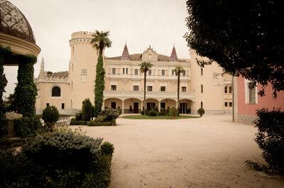 Castillo de Viñuelas: un lugar idílico para celebrar una boda de cuento