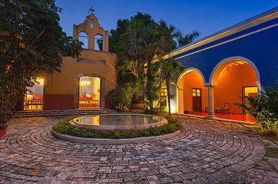 Las 9 haciendas más hermosas para boda en Yucatán: Vegetación y exuberancia