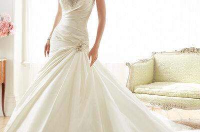 Tendencia en vestidos de novia de Sophia Tolli: Lujo y sofisticación