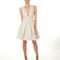 Vestido de novia 2013 corto y con escote en V