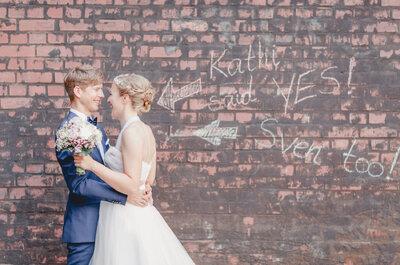 10 GIFs, die richtig Lust auf's Heiraten machen!