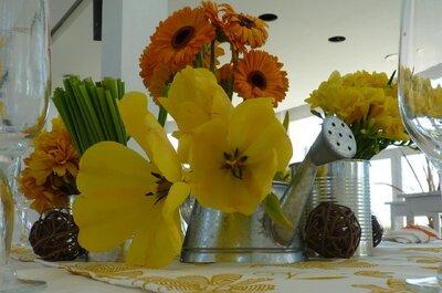 Ideas de decoración para una boda campestre y ecológica