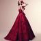 Intramontabile rosso per Alessandra Rinaudo
