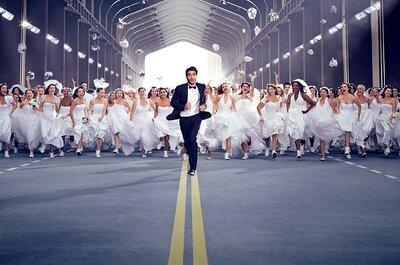 Des milliers de mariées courent après l'homme idéal dans les rues de San Francisco