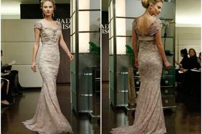 Badgley Mischka Wedding Dresses Fall 2013: Heavenly Beading & Lace