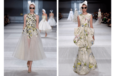 Giambattista Valli conjuga el color de las flores y un toque artesanal en su colección alta costura otoño 2014