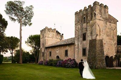 Matrimonio sul lago di Bracciano, tra storia e natura, nelle Antiche Scuderie Odescalchi
