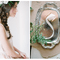 Una decoración de boda inspirada en la pureza del color blanco - Foto Anastasiya Belik Photography