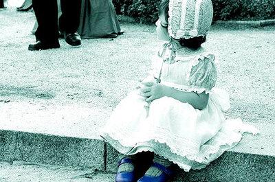 Los niños, los grandes protagonistas de la boda