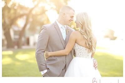 Brillos y color menta por doquier: No pierdas de vista esta boda súper glam en una granja