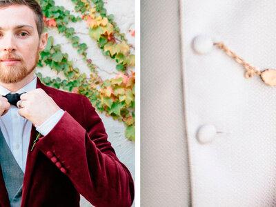 8 accesorios imprescindibles que tu novio debe tener en cuenta el día del matrimonio