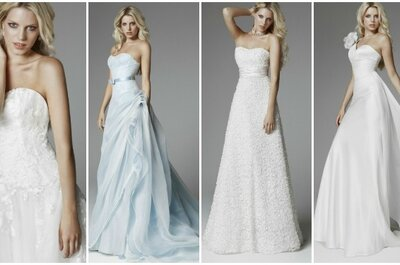 Blumarine Sposa Collezione 2013, colore ed eleganza per la sposa moderna!