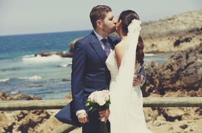 Hechos el uno para el otro: la boda de Mayte y Pablo