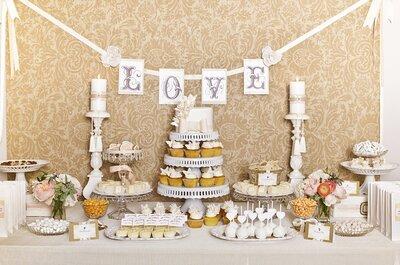 Süßes Buffet als Hochzeits-Trend für die Hochzeit