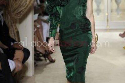 Vestidos para convidadas modernas e ousadas de Giambattista Valli coleção 2013
