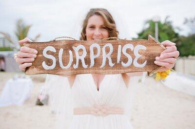 Como organizar um casamento SURPRESA: passo a passo em 13 tópicos básicos!
