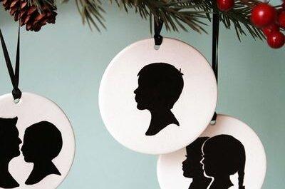 Le Papier Studio Silhouette Ornament Giveaway!