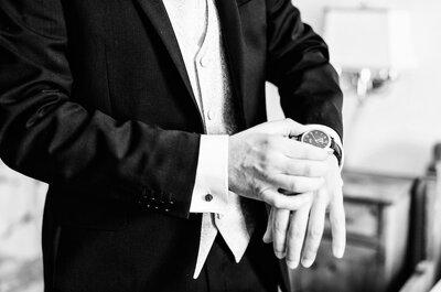 Welche Uhr trägt der Bräutigam am Tag der Hochzeit? Wir verraten es Ihnen!