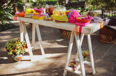 Real Wedding: A feast of colors in magnificent Mexico