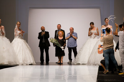Sfilata Amelia Casablanca 2014: una cascata di petali