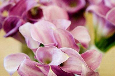 Felices bodas en color orquidea radiante, el tono de 2014