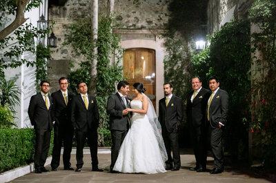 Mi corazón late con tan sólo una mirada tuya: La boda de Gaby y César