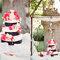 Tarta de bodas con flores blancas y rosas. Foto: KT Merry Photography