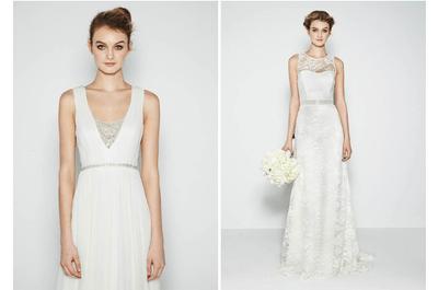 Belleza etérea: Vestidos de novia primavera 2015 de Nicole Miller