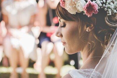 La couronne de fleurs : une idée stylée à piquer à la mariée si vous êtes invitée !