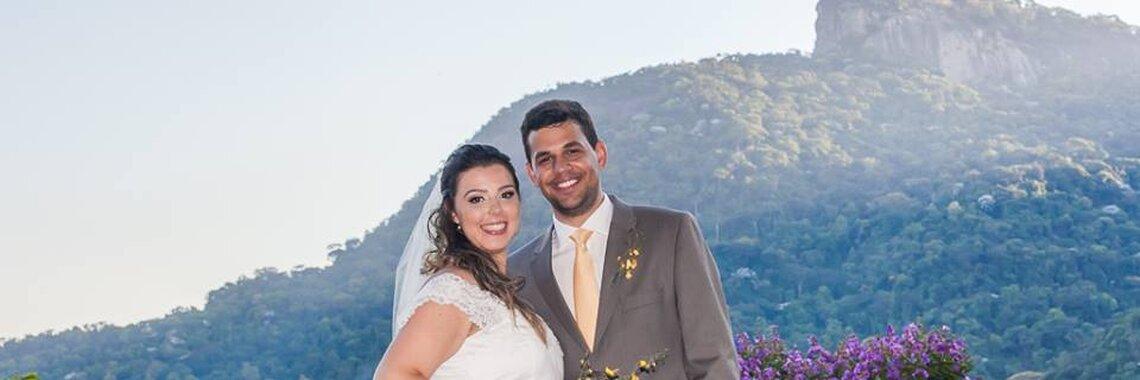 Alessandra &Bruno: Casamento romântico com vista incrível do Rio de Janeiro