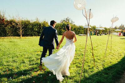 Gaby y Jorge, un matrimonio mágico y floral