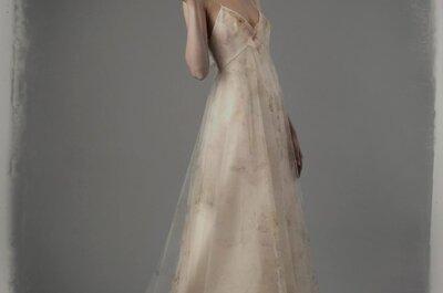 30 vestidos de noiva 2015 perfeitos para grávidas