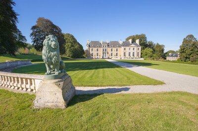 Réservez un lieu exceptionnel pour votre mariage en 2017 au Château de Villers-Bocage !