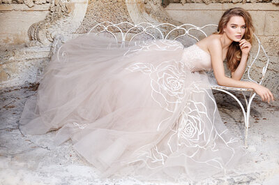 Jim Hjelm Spring Bridal Collection for 2015: Elegant and Flirty
