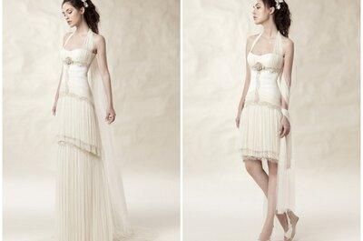 Vestidos de novia desmontables 2013