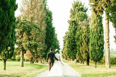Look della settimana: sposa Greenery