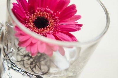 Decora tu matrimonio con románticas flores rojas