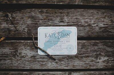 Реальная свадьба: Katy & Dan у озера